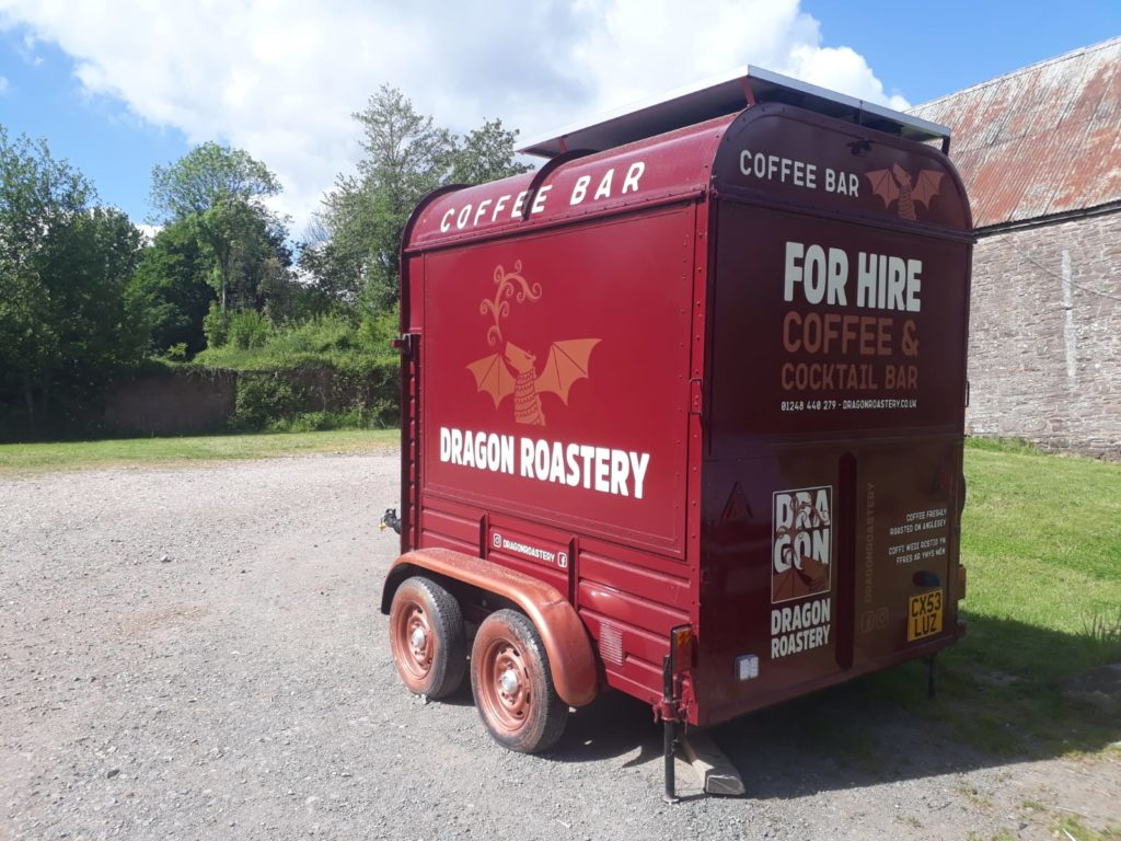 Dragon Roastery converted horsebox